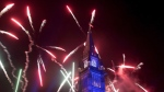 Fireworks explode over the Peace Tower during the evening ceremonies of Canada's 150th anniversary of Confederation, in Ottawa on July 1, 2017. THE CANADIAN PRESS/Justin Tang