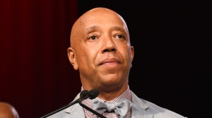 In this July 18, 2015 file photo, Russell Simmons speaks appears at the RUSH Philanthropic Arts Foundation's Art for Life Benefit in Water Mill, N.Y. Simmons released a statement Thursday, Nov. 30, 2017, after screenwriter Jenny Lumet made an allegation of sexual misconduct in a guest essay in The Hollywood Reporter. (Photo by Scott Roth/Invision/AP, File)