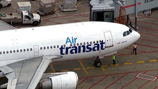 air transat, plane