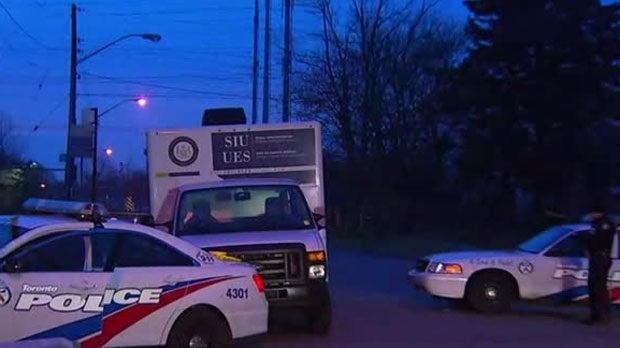 Police say an armed suspect was shot following a home invasion in Bendale early Saturday morning.