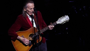 Legendary singer-songwriter Gordon Lightfoot performs his classic hits at the McPherson Playhouse in Victoria, B.C., on Monday, October 23, 2017 kicking off the Canadian leg of the The Legendary Gordon Lightfoot 2017 Tour.  THE CANADIAN PRESS/Chad Hipolito