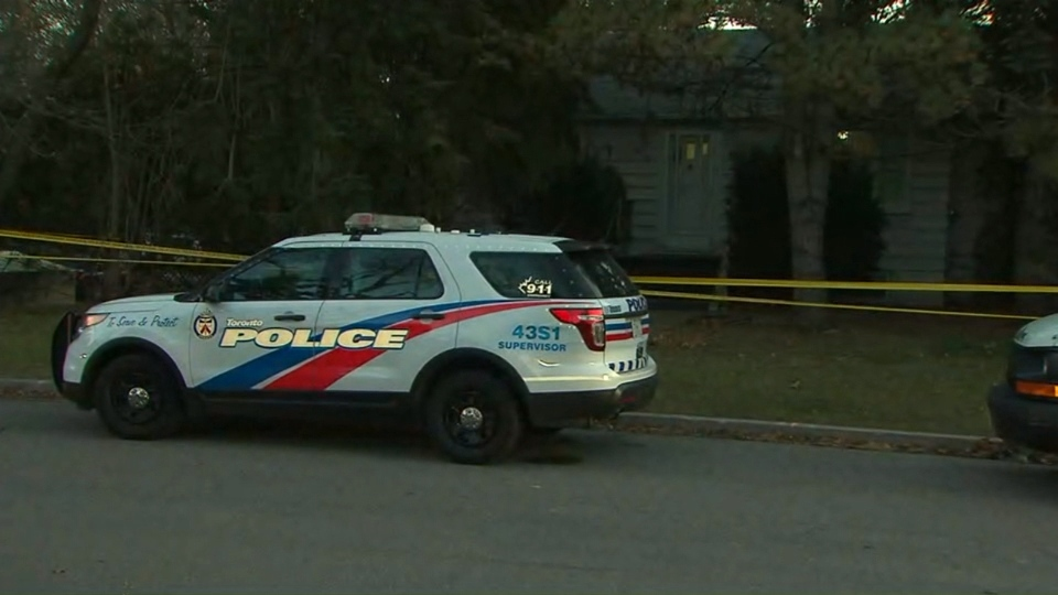 One person is in custody in connection with the death of a woman in Scarborough's Port Union neighbourhood.