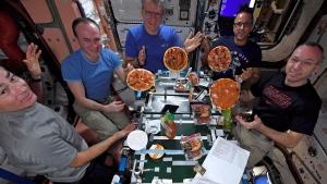 NASA space pizzas