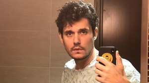 John Mayer is seen after undergoing an emergency appendectomy in this photo posted to his Instagram account. (Instagram/John Mayer)