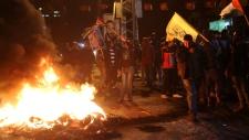 Palestinian, protestors