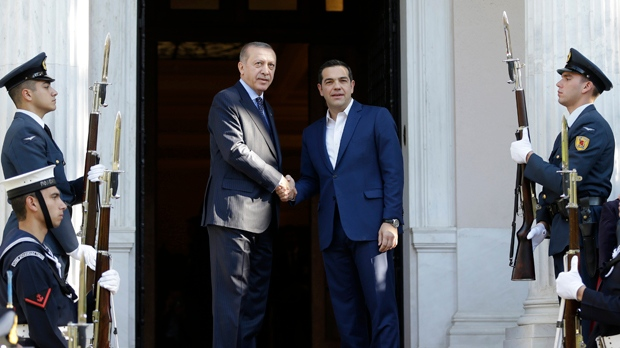 Alexis Tsipras,  Recep Tayyip Erdogan,