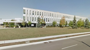 Niagara Region headquarters in Thorold, Ont. is shown in a Google Streetview image.