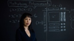 Mary Reid, professor of math education at the University of Toronto's Ontario Institute for Studies in Education, poses for a portrait in Toronto on Friday, December 8, 2017. THE CANADIAN PRESS/Christopher Katsarov