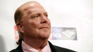 "In this Wednesday, April 19, 2017, file photo, chef Mario Batali attends an awards event in New York. Batali stepped away from his restaurant empire and cooking show ""The Chew"" on Monday, Dec. 11, 2017, as he said that reports of sexual misconduct ""match up"" to his behavior. (Photo by Brent N. Clarke/Invision/AP, File)"