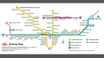 The new map of the TTC's subway system is shown, including the new six-stop extension into Vaughan. (Handout /TTC)