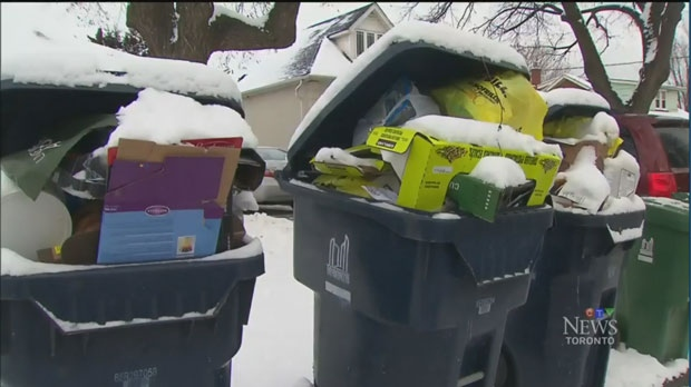 recyling bins,