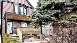 A Toronto house once rented by actor Meghan Markle is shown in a handout photo. THE CANADIAN PRESS/HO-Freeman Real Estate Ltd. MANDATORY CREDIT