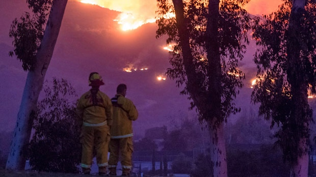 Massive California wildfire now the fifth-largest in state's history