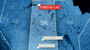 Police say the plane crashed shortly after taking off around 6:15 p.m. at the Fond-du-Lac airport in northern Saskatchewan.