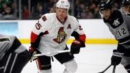 Ottawa Senators right wing Chris Neil (25) skates during the third period of an NHL hockey game with Los Angeles Kings right wing Marian Gaborik (12), of Slovakia, in Los Angeles, Saturday, Dec. 10, 2016. THE CANADIAN PRESS/AP-Alex Gallardo