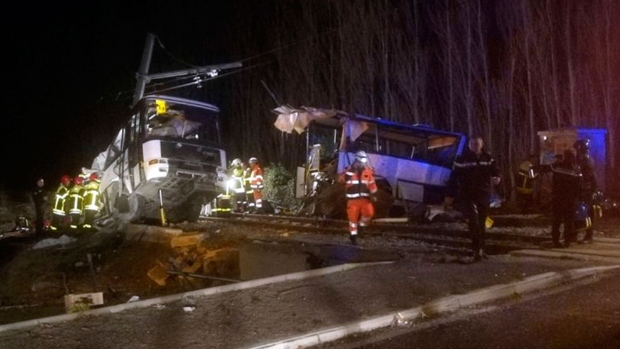 France bus crash