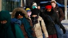 Extreme cold weather Toronto