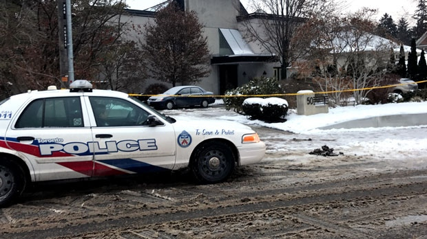 Toronto police are investigating after two bodies were discovered inside a home in Toronto's York Mills neighbourhood.