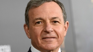 "FILE - In this Monday, March 13, 2017, file photo, Walt Disney Co. CEO Robert Iger attends a special screening of Disney's ""Beauty and the Beast"" at Alice Tully Hall, in New York.  (Photo by Evan Agostini/Invision/AP, File)"