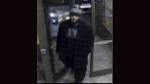 Police are searching for two suspects wanted in connection with an alleged assault on a man outside a Scarborough Tim Horton's. (Toronto Police Service handout)