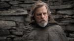 "This image released by Lucasfilm shows Mark Hamill as Luke Skywalker in ""Star Wars: The Last Jedi."" (John Wilson/Lucasfilm via AP)"