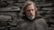 "This image released by Lucasfilm shows Mark Hamill as Luke Skywalker in ""Star Wars: The Last Jedi."" (John Wilson/Lucasfilm via AP)"