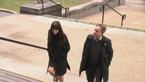 Marc and Jodie Emery appear in court on Dec. 18, 2017.