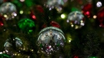 Christmas decorations adorn a tree in Ottawa in a Dec.14, 2014 file photo. (Adrian Wyld/THE CANADIAN PRESS)
