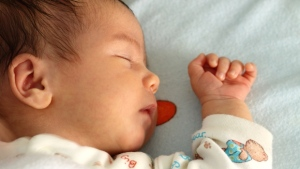 Olivia topped the girl's list, with 94 babies given that name, while Liam was tops among boys with 86. (File image)