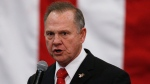 U.S. Senate candidate Roy Moore speaks at a campaign rally in Midland City, Ala. Moore is going to court to try to stop Alabama from certifying Democrat Doug Jones as the winner of the U.S. Senate race. Moore filed a lawsuit Wednesday evening, Dec. 27, 2017, in Montgomery Circuit Court. (AP Photo/Brynn Anderson, File)