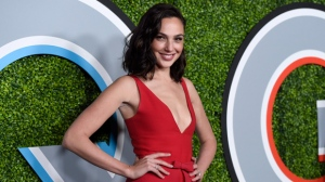 Gal Gadot arrives at the GQ Men of the Year Party at Chateau Marmont on Thursday, Dec. 7, 2017, in Los Angeles. (Photo by Chris Pizzello/Invision/AP)