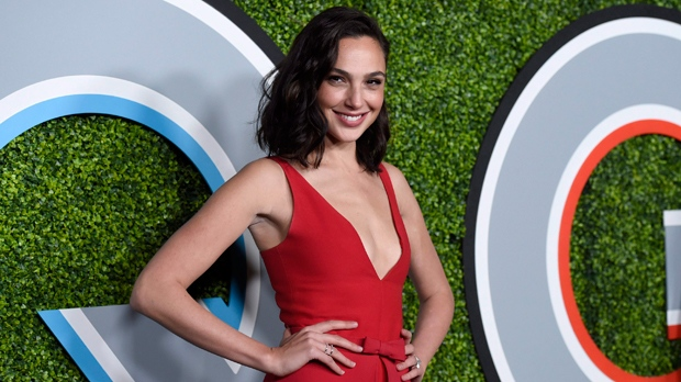 Gal Gadot arrives at the GQ Men of the Year Party at Chateau Marmont on Thursday Dec. 7 2017 in Los Angeles