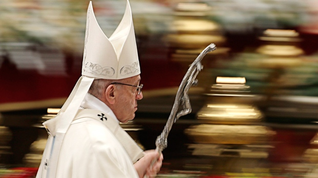On New Year's Eve, Pope Francis delivers his 'silent majority' speech