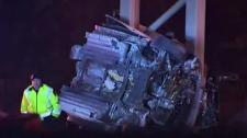 Warden, Highway 401, crash