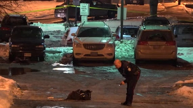 The homicide unit is investigating after a man was shot in the city's west end on Tuesday night.