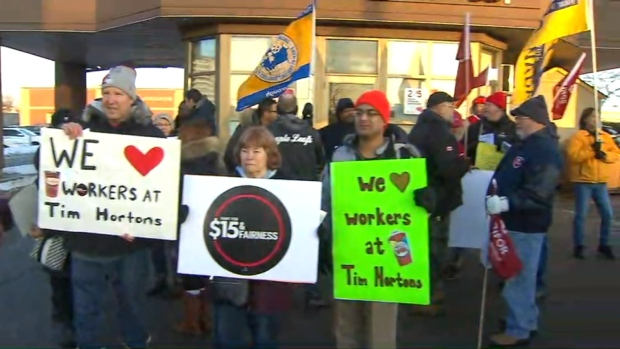 Rally planned against Hamilton-area Tim Hortons