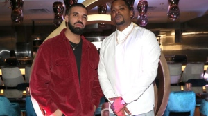Drake and Chubbs are seen at Dwyane Wade's birthday bash at the restaurant. (The 5th Column PR)