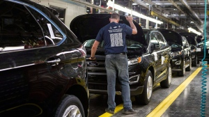 Ford Assembly Plant in Oakville, Ont.