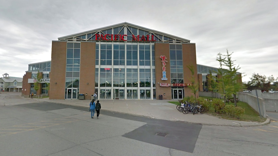 Pacific Mall appears in this screenshot image taken from Google Street View. (Google Maps)