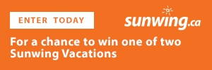 Sunwing contest button