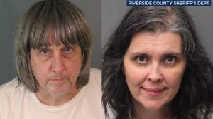 Louise Anna Turpin and David Allen Turpin are seen in these photos released by the Riverside County Sheriff's Department. (Riverside County Sheriff's Department via AP)