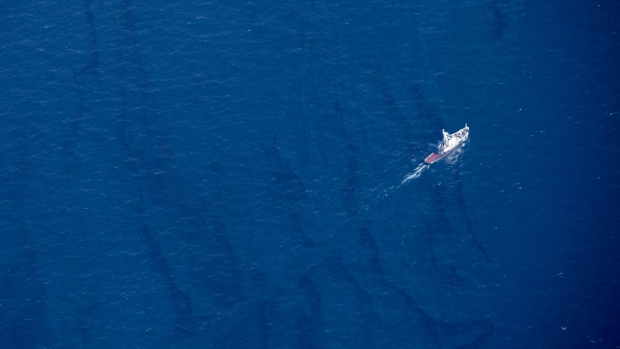 Days After Oil Tanker Sinks, Large Slicks Observed In East China Sea