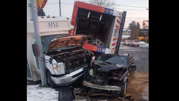 Multiple injuries after three-vehicle collision in East York | CP24 com
