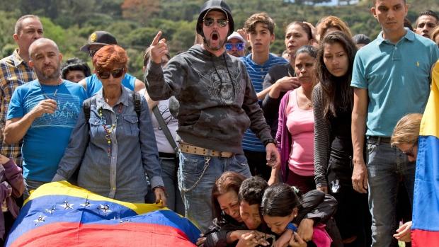 Venezuela funeral