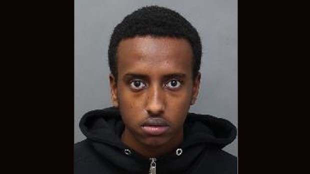 Adam Abdi, 20, has been charged with seven counts of attempted murder. (Toronto Police Service handout)