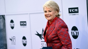 Actress Candice Bergen arrives at the 45th AFI Life Achievement Award Tribute to Diane Keaton, at Dolby Theatre on Thursday, June 8, 2017, in Los Angeles. (Photo by Chris Pizzello/Invision/AP)
