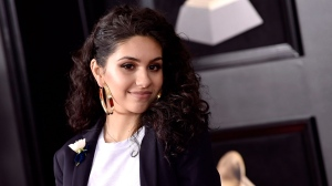Alessia Cara arrives at the 60th annual Grammy Awards at Madison Square Garden on Sunday, Jan. 28, 2018, in New York. (Photo by Evan Agostini/Invision/AP)
