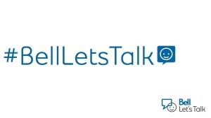 The Bell Let's Talk Day logo is pictured. (Bell_LetsTalk /Twitter)