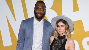 In this June 26, 2017, file photo, former NBA basketball player Rasual Butler and his wife Leah LaBelle, whose given name is Leah LaBelle Vladowski, arrive at the NBA Awards at Basketball City at Pier 36 in New York. (Photo by Evan Agostini/Invision/AP, File)