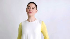 "Rose McGowan poses for a portrait in New York on Wednesday, Jan. 31, 2018, to promote her book ""Brave."" (Photo by Taylor Jewell/Invision/AP)"